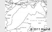 Blank Simple Map of Ituzaingo
