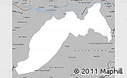 Gray Simple Map of Ituzaingo