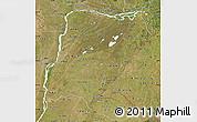 Satellite Map of Corrientes