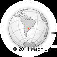 Outline Map of Monte Caseros