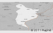 Gray Panoramic Map of Monte Caseros