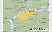 Savanna Style Map of San Cosme