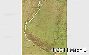 Satellite 3D Map of Entre Rios