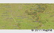 Satellite Panoramic Map of Colon