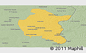 Savanna Style Panoramic Map of Colon