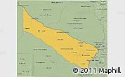 Savanna Style 3D Map of Formosa
