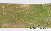 Satellite Panoramic Map of Formosa