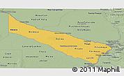 Savanna Style Panoramic Map of Formosa