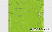 Physical Map of Pilcomayo