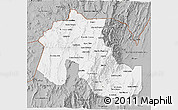 Gray 3D Map of Jujuy