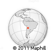 Outline Map of Cochinoca