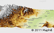 Physical Panoramic Map of Ledesma