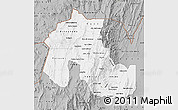 Gray Map of Jujuy
