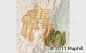 Satellite Map of Jujuy, lighten