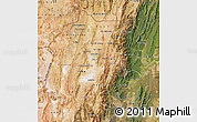 Satellite Map of Jujuy