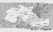Gray Panoramic Map of Jujuy