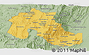 Savanna Style Panoramic Map of Jujuy
