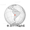 Outline Map of Rinconada