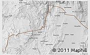 Physical 3D Map of Santa Catalina