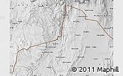 Physical Map of Santa Catalina
