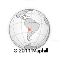 Outline Map of Santa Catalina