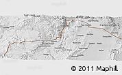 Physical Panoramic Map of Santa Catalina