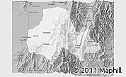 Gray 3D Map of Tumbaya