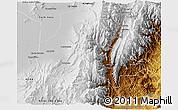 Physical 3D Map of Tumbaya