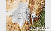 Physical Map of Tumbaya, satellite outside