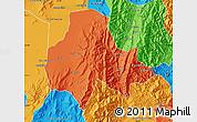 Political Map of Tumbaya