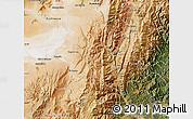Satellite Map of Tumbaya