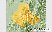 Savanna Style Map of Tumbaya