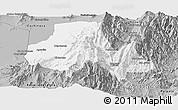 Gray Panoramic Map of Tumbaya