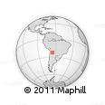 Outline Map of Yavi