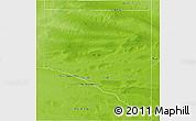 Physical 3D Map of Caleu Caleu