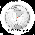 Outline Map of Caleu Caleu