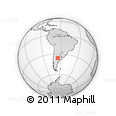 Outline Map of Conhello