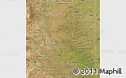 Satellite Map of La Pampa