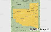 Savanna Style Map of La Pampa