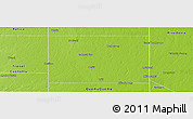 Physical Panoramic Map of Maraco
