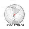 Outline Map of La Pampa