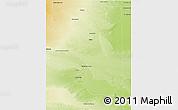 Physical 3D Map of Pulen