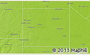 Physical 3D Map of Quemu Quemu