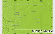Physical Map of Quemu Quemu