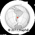 Outline Map of Quemu Quemu