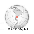 Outline Map of Ralico
