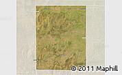 Satellite 3D Map of Rancul, lighten
