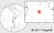 Blank Location Map of Rancul