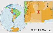 Political Location Map of Rancul