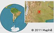 Satellite Location Map of Rancul